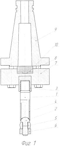Инструмент для электромеханического дорнования гладких цилиндрических отверстий