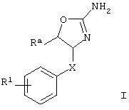 Производные оксазолинов для лечения расстройств цнс