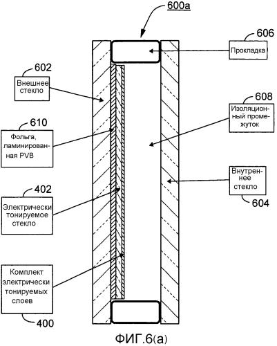 Электрохромные устройства, блоки, содержащие электрохромные устройства, и/или способы их изготовления