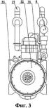 Блок пневматического двигателя со вспомогательным контуром сжатого воздуха