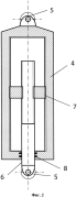 Устройство для гашения колебаний в железнодорожном транспортном средстве, выполняющем грузовые перевозки