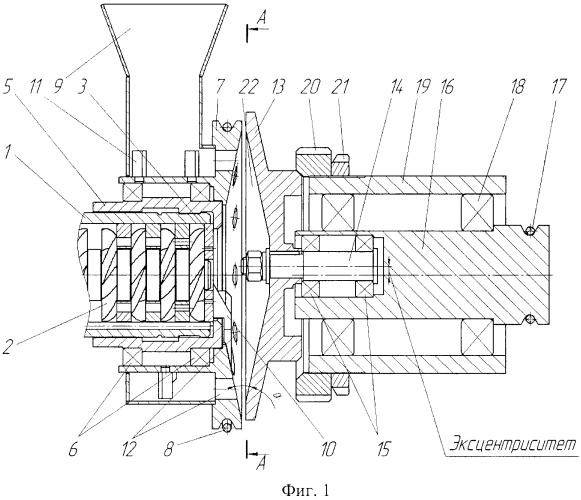 Устройство для гранулирования пластичных материалов