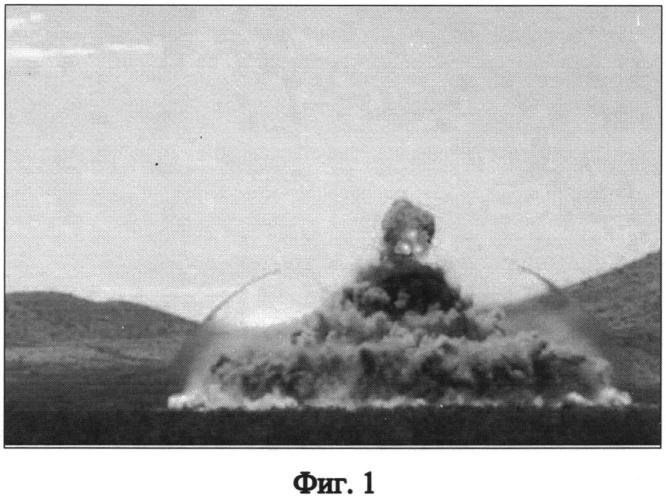 Способ определения координат взрыва и энергетических характеристик боеприпаса при испытаниях