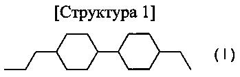 Жидкокристаллическая композиция и полученный с ее использованием жидкокристаллический отображающий элемент