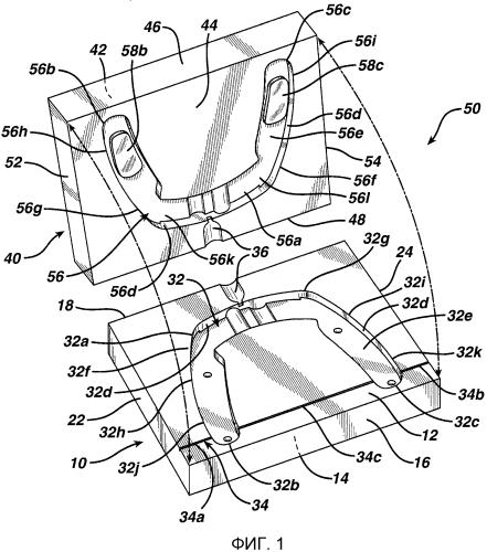 Устройство для изготовления одноразовых держателей зубной нити