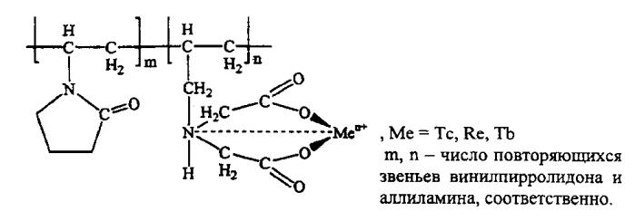 Способ получения водорастворимых полимерных комплексов радиоизотопов