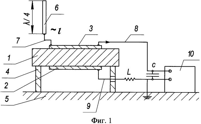 Пироэлектрический преобразователь электромагнитных волн