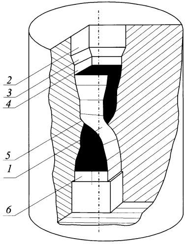 Способ комбинированной интенсивной пластической деформации заготовки