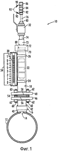 Устройство накопления, отображения и отвода воздуха для использования в ядерной промышленности
