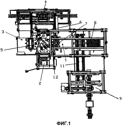 Комплектование корпусов автомобильных аккумуляторов наборами электродных пластин
