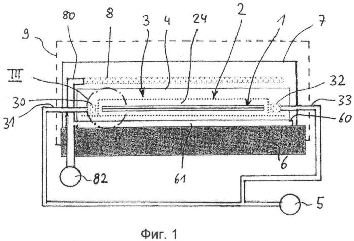 Способ и устройство для изготовления композитной фасонной детали из армированного волокном пластика