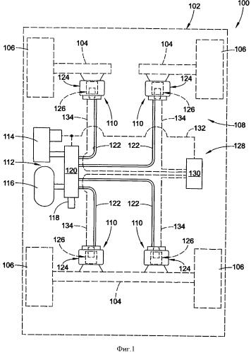 Газовая рессора с газовым амортизатором в сборе и способ их сборки