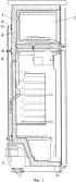 Бытовой холодильник с подвижным конденсатором