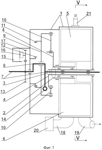 Гибридный двигатель внутреннего сгорания