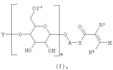 Способ получения гликозидов акрилатных производных с использованием полисахаридов и гликозидаз или гликозилтрансфераз