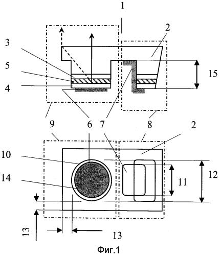 Полупроводниковый диод средневолнового инфракрасного диапазона спектра