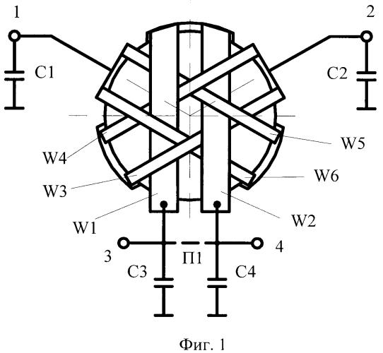 Многофункциональное ферритовое развязывающее устройство