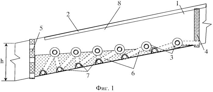 Способ возведения закладочного массива при разработке месторождений в условиях многолетней мерзлоты