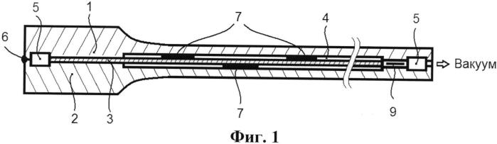 Пакет для изготовления полого многослойного ячеистого изделия способом диффузионной сварки и сверхпластической формовки