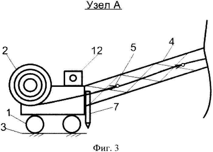 Устройство для механизированного создания противофильтрационного покрытия из полимерного материала