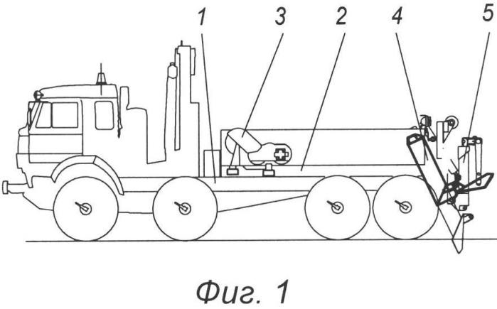 Транспортное средство для вытаскивания застрявших и аварийных автомобилей