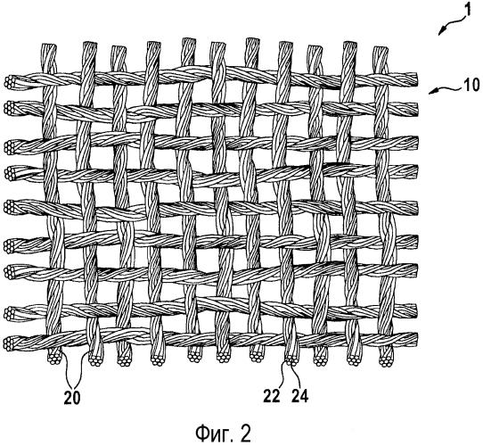 Структура огнезащитного материала
