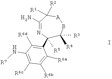2,5,6,7-тетрагидро-[1,4]оксазепин-3-иламины или 2,3,6,7-тетрагидро-[1,4]оксазепин-5-иламины