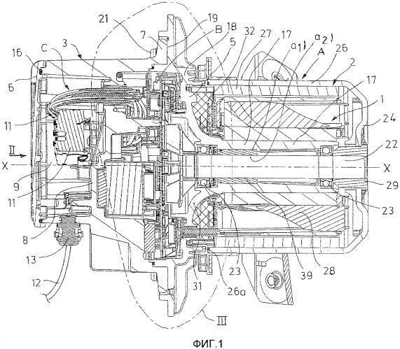 Электродвигатель постоянного тока во взрывозащищенном конструктивном исполнении
