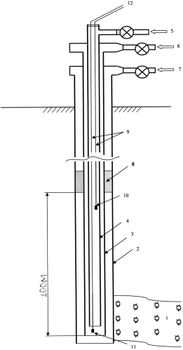 Система для повышения эффективности эрлифта при откачке из недр пластового флюида