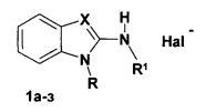 1-[ω-арилоксиалкил(бензил)]замещенные 2-аминобензимидазолы, обладающие активностью в отношении вируса гриппа