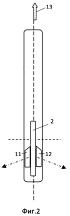Активное приспособление для движения по воде в виде киля и его варианты