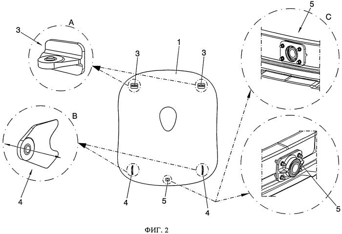 Хвостовая часть фюзеляжа летательного аппарата, способ ее сборки и содержащий ее летательный аппарат