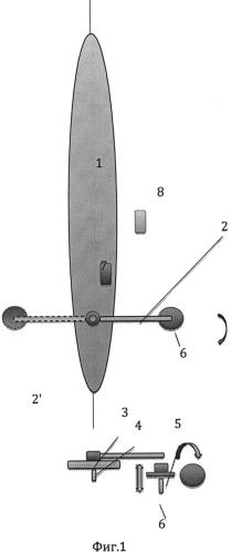 Система активной стабилизации малоразмерного плавательного средства