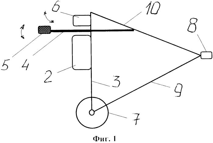 Спортивный мобильный снаряд для технико-тактической подготовки бойцов ударного стиля