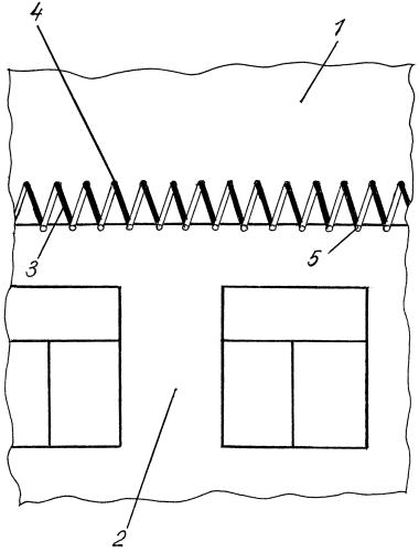 Способ предотвращения образования сосулек на крыше здания