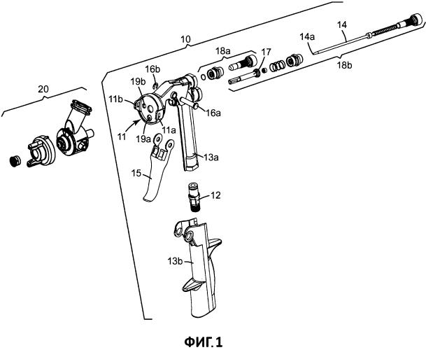 Насадки сопел и узлы распылительной головки для краскопультов