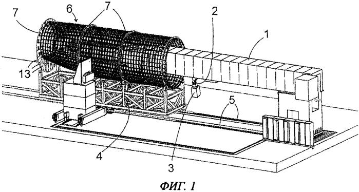Укладочная машина и способ изготовления изделия из композитного материала