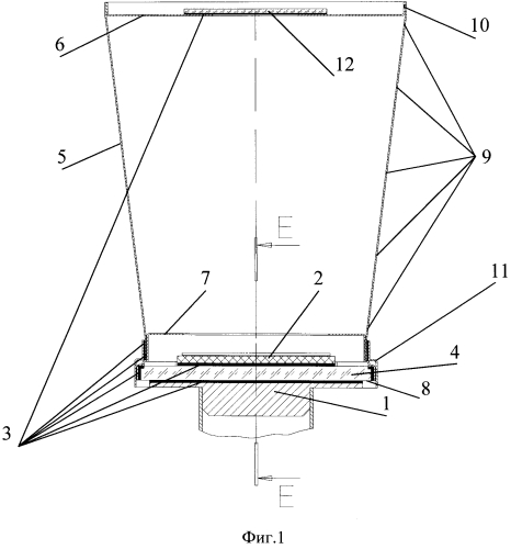 Ик матричный фотоприёмник с охлаждаемой диафрагмой и способ изготовления диафрагмы