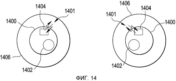 Электронная офтальмологическая линза с датчиком взгляда глаз
