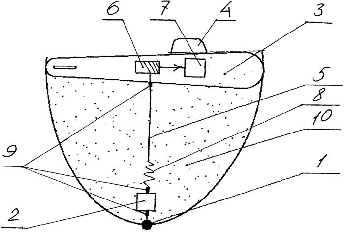 Устройство для контроля подводного шума плавсредства