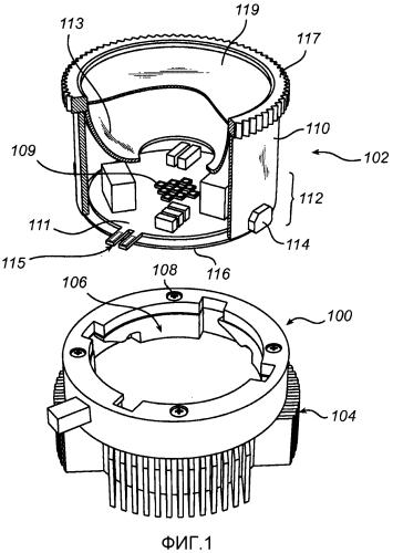 Соединитель для соединения компонента с теплоотводом