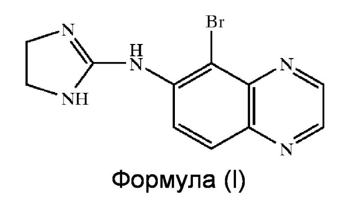 Композиции геля с бримонидином и способы применения