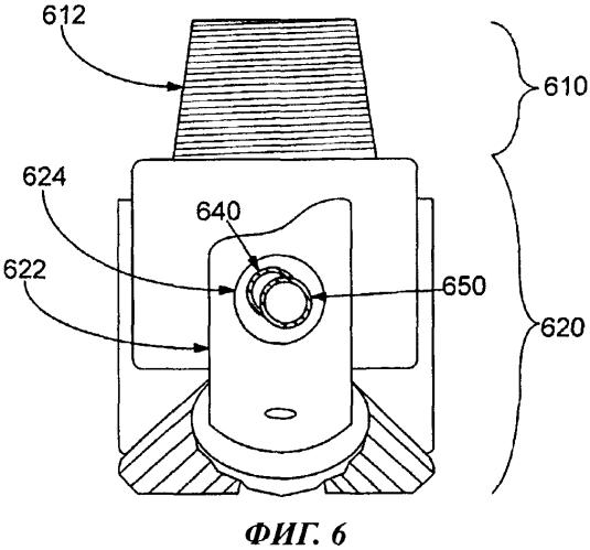 Буровое долото для выполнения электромагнитных измерений в подземном пласте