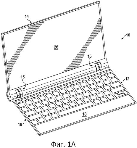 Конфигурация шарнира для электронного устройства