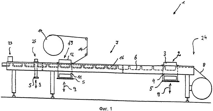 Упаковочная машина и способ изготовления вакуумированных и/или заполненных газом упаковок