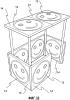 Система и способ двумерной печати на трехмерной печатной основе