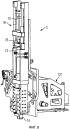 Устройство и способ для вытеснения удерживаемых с геометрическим замыканием в диске рабочего колеса лопаток