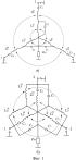 Циркулятор на сосредоточенных элементах с двукратным изменением направления циркуляции