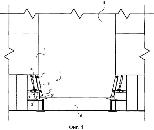 Устройство, узел и способ фиксации подводного люка или другой съемной конструкции