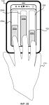 Устройства и способы для представления информации пользователю на тактильной выходной поверхности мобильного устройства